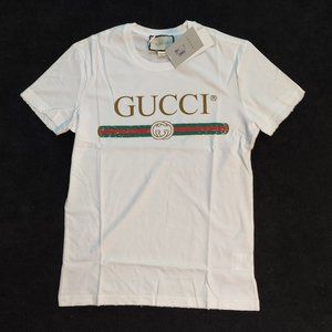 Gucci White Nwt Tshirt Size XLARGE